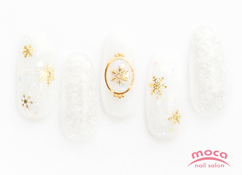 snow crystal nail☆